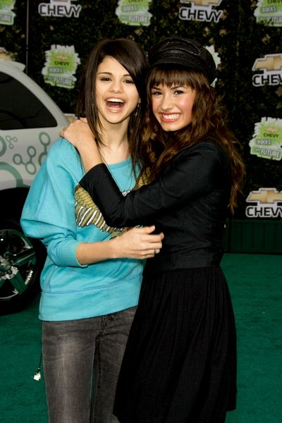 selena gomez and demi lovato. selena gomez and demi lovato