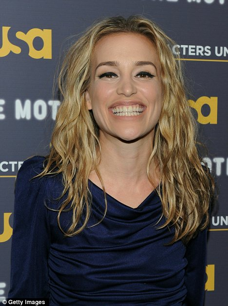 Actress Piper Perabo attends a storytelling event 'A More Perfect Union: ...