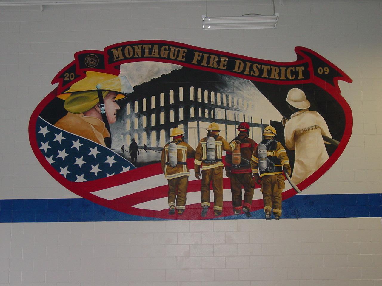 Montague Fire Station Mural Part 63