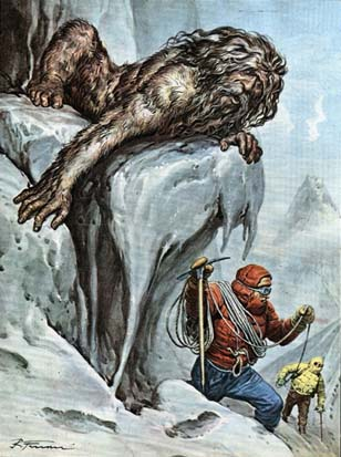 Late-Victorian Yeti Picture