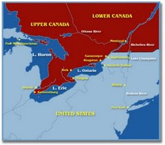 1812 A.D. The War of 1812 (1812 - 1815). In 1812, the United States invades Canada.
