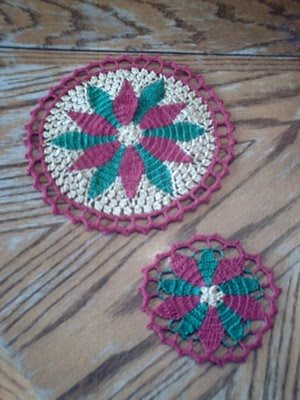 Crochet and Other Stuff: Pineapple Motif Earring - free crochet