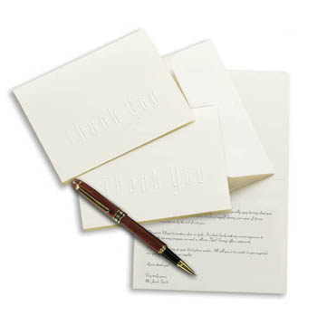 thank you notes sample. business thank you letter