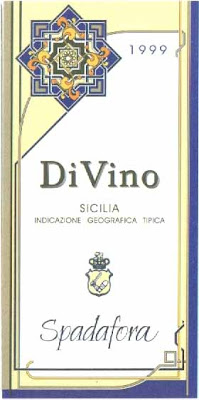 spadafora divino sicilia 2003 i.g.t white wine chardonnay grillo inzolia blend