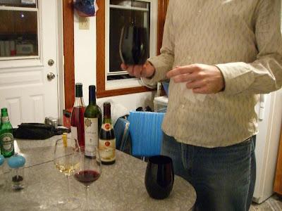stemless crystal riedel blind tasting glasses take the wine color taste test