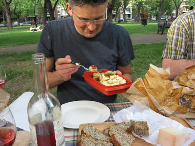 vegetarian feast summer picnic ideas for yummy veggies in season