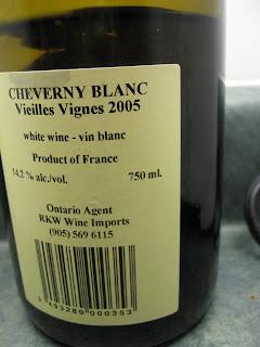 Ontario Agent RKW wine imports cheverny LCBO