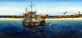Bligh is cast adrift