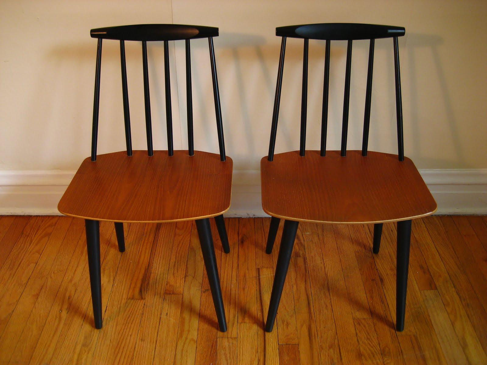 Flatout design: Folke Palsson Chairs