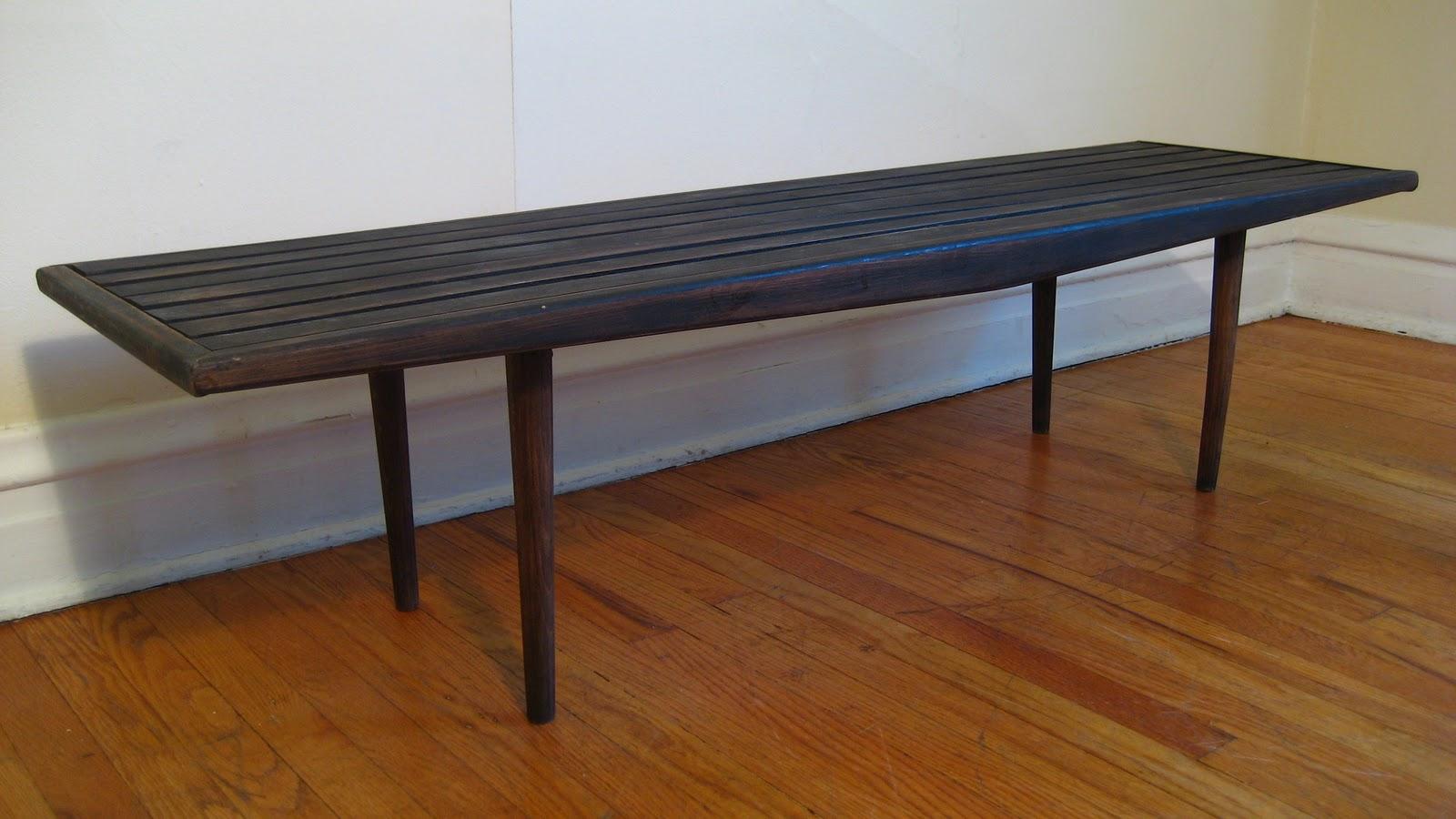 Flatout Design Slat Bench