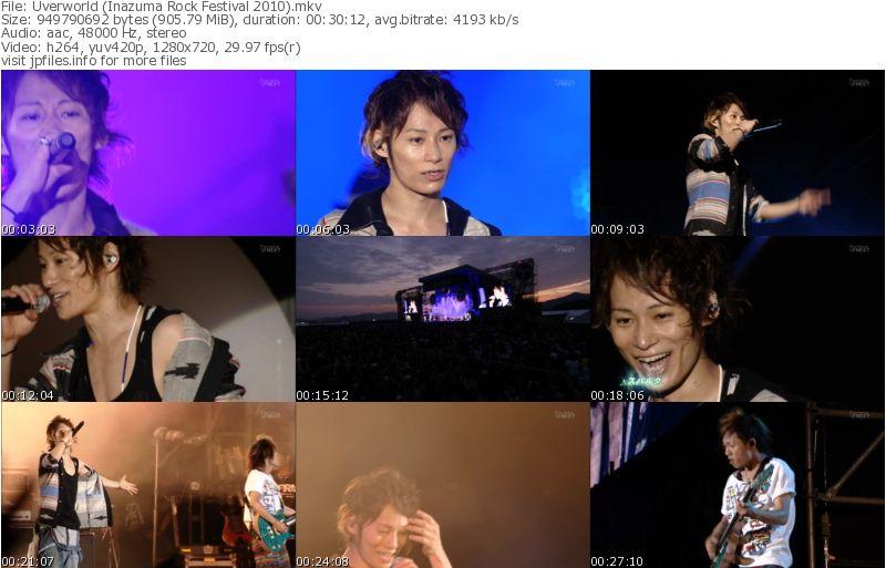 Inazuma Rock Fes 2010 !!! Uverworldinazumarockfes