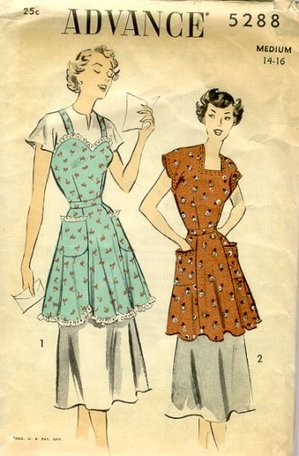 Apron, Smock, and Pinafore Sewing Patterns
