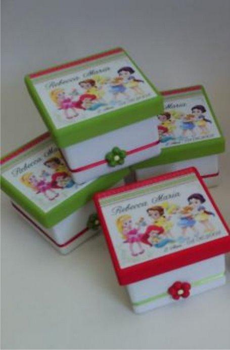 caixa princesas baby