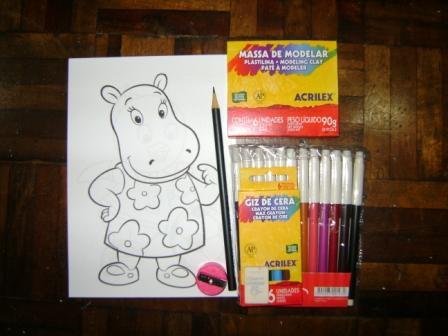 kit desenho