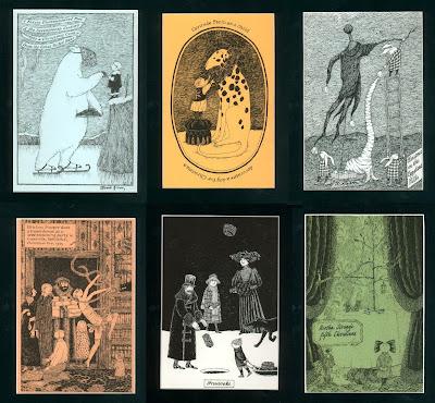 Goreyana Edward Gorey Limited Christmas Cards