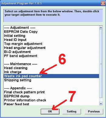 cara mereset epson tx110-tx111 blink berkedip error - cara service epsont tx error 5