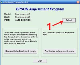 Atasi Printer Epson TX100   TX101 Blinking dengan Resetter