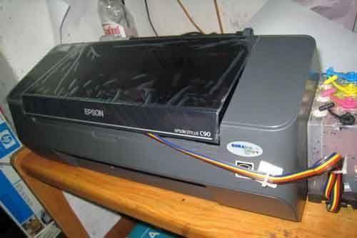 Cara Servis Printer Epson C90 tidak bisa narik kertas