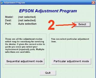 cara Resetter untuk Epson T11