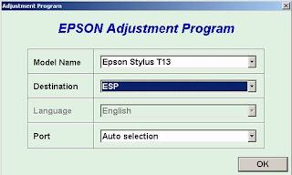 Atasi Printer Epson T13 Blinking dengan Resetter Software