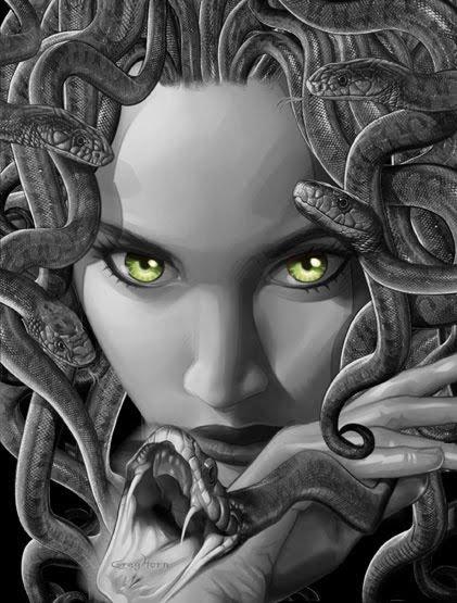 A MÍ ME DA MIEDO: Furia de Titanes [III]. Medusa ...