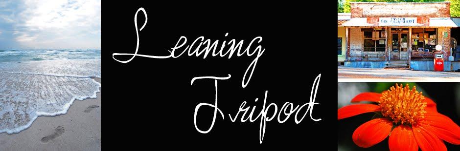 leaning tripod