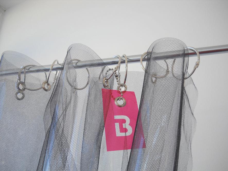 Cortinas De Baño Rosario:Cortinas Banheiro: Nuevos ModelosDelux con Tul y Transparencia