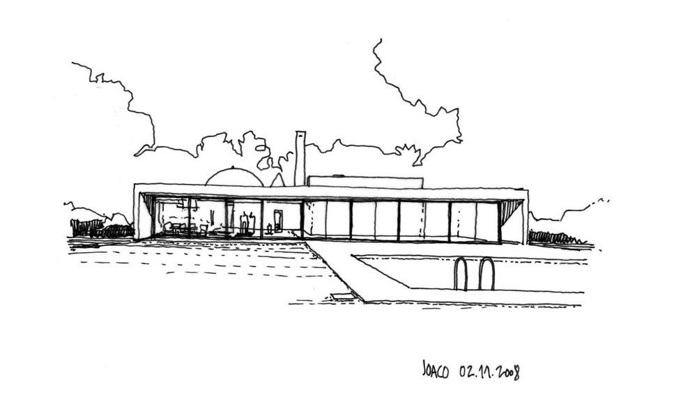 Dibujos de arquitecto architect drawings casa de souto - Trabajo arquitecto barcelona ...