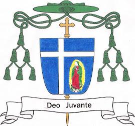 Escudo del Ilmo. y Revmo. Sr.+ Sergio Martínez