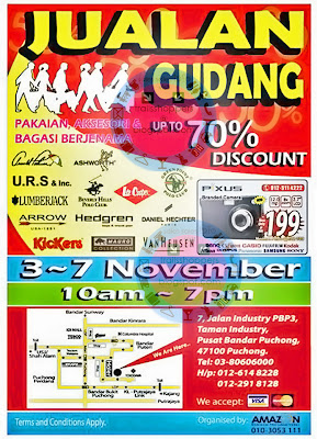 Branded Warehouse Sale @ Puchong