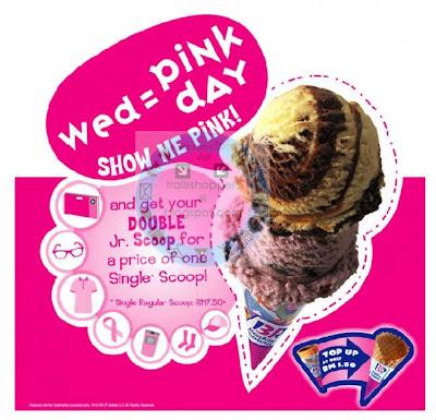 Baskin-Robbins Malaysia Wednesday is BR Pink Day