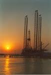puesta de sol en muelles carmen