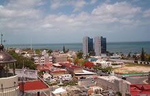 panoramica de San Francisco de Campeche y su bahia