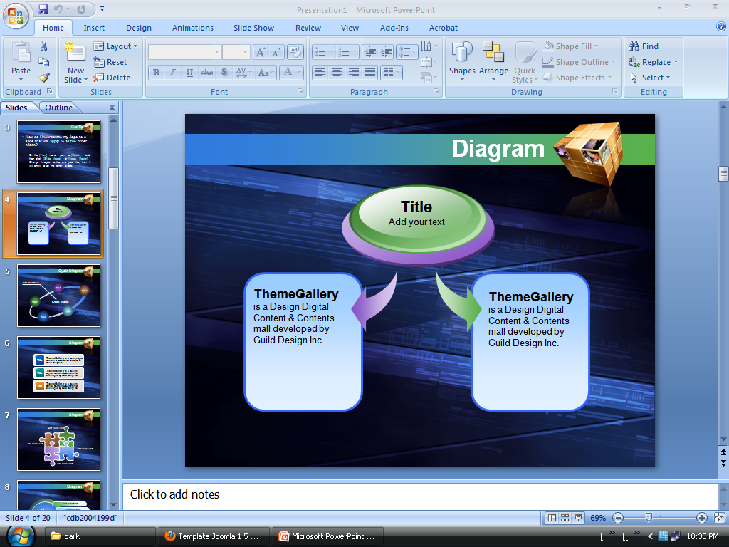 Download Powerpoint 2007 Templates
