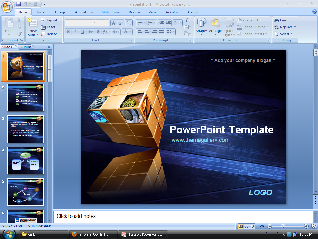 Free PowerPoint Presentation Templates and Backgrounds