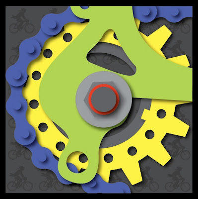 bike gears illustration