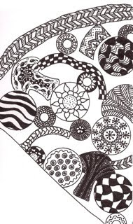 zentangle pizza