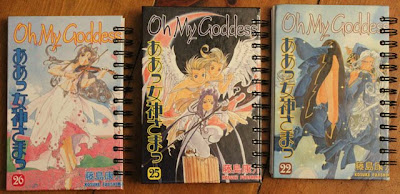 Recycled Manga Bound Into Art Journals