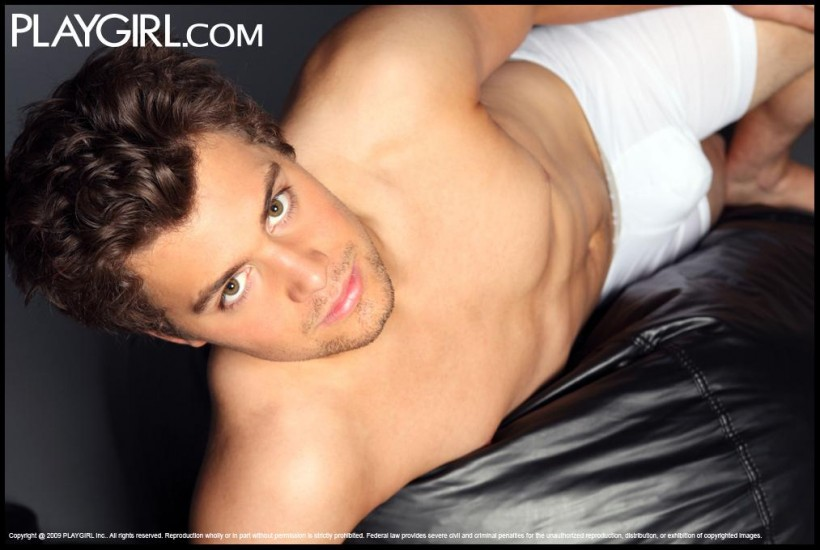 Levi Johnstons Naked Photos FINALLY Up on Playgirl