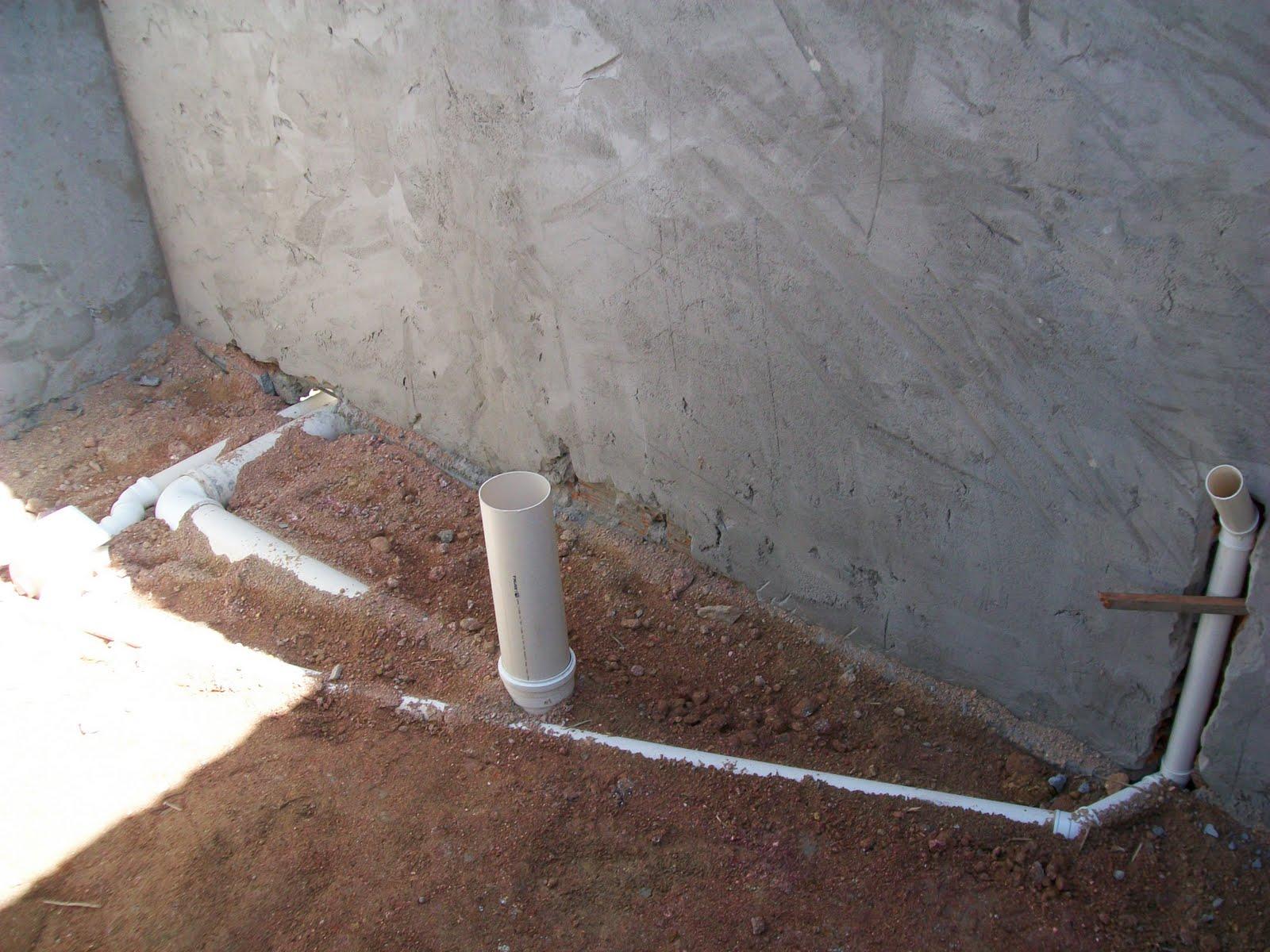 Nossa Casinha Nova: Contrapiso e Telhado  #7B5D4C 1600x1200 Banheiro Com Cheiro De Esgoto O Que Fazer