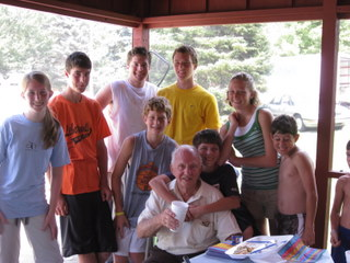 Grandpa turned 80!