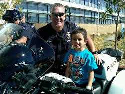 DJ made a Junior Police Officer