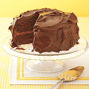 ... for some chocolate!! So..what's better than a devil's food cake