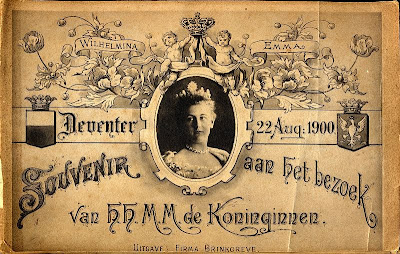 Royal visit to Deventer, 22 August 1900