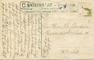 Postcard from Anna Foppen, back
