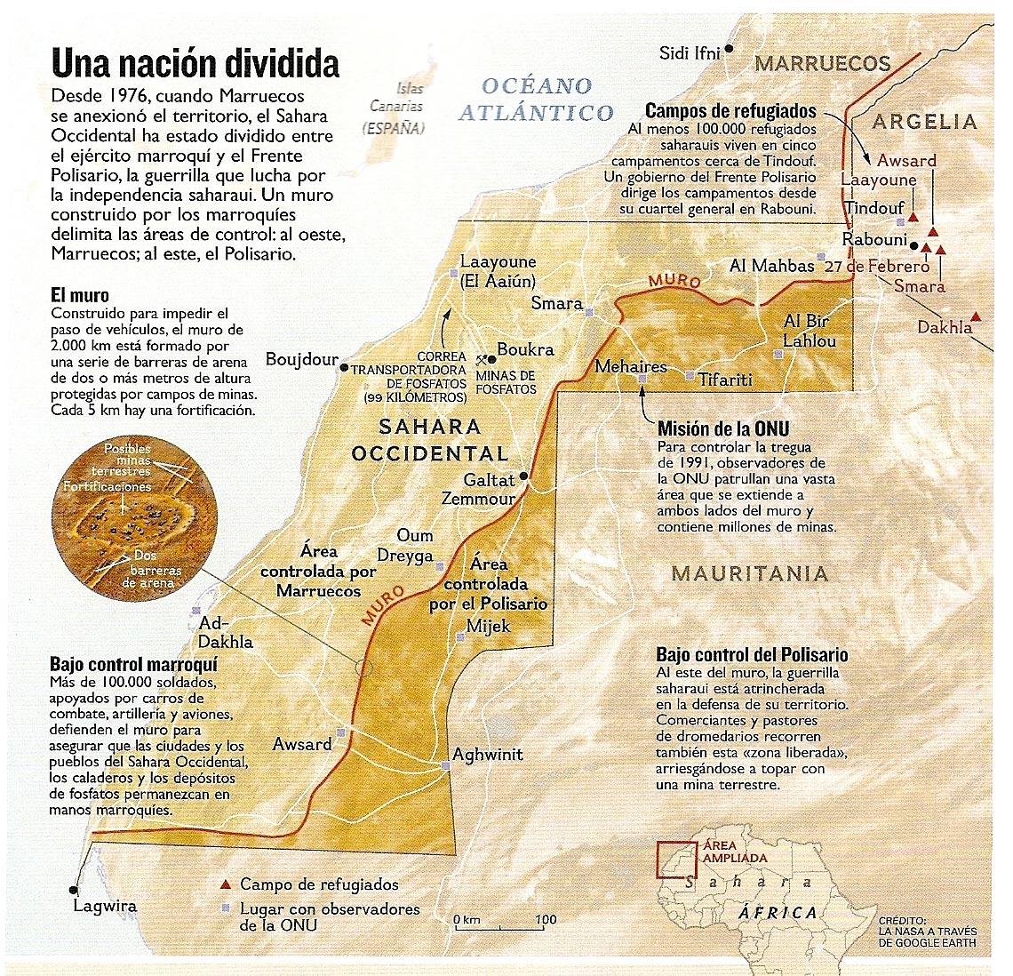 El Sáhara Mapa_Sahara_2