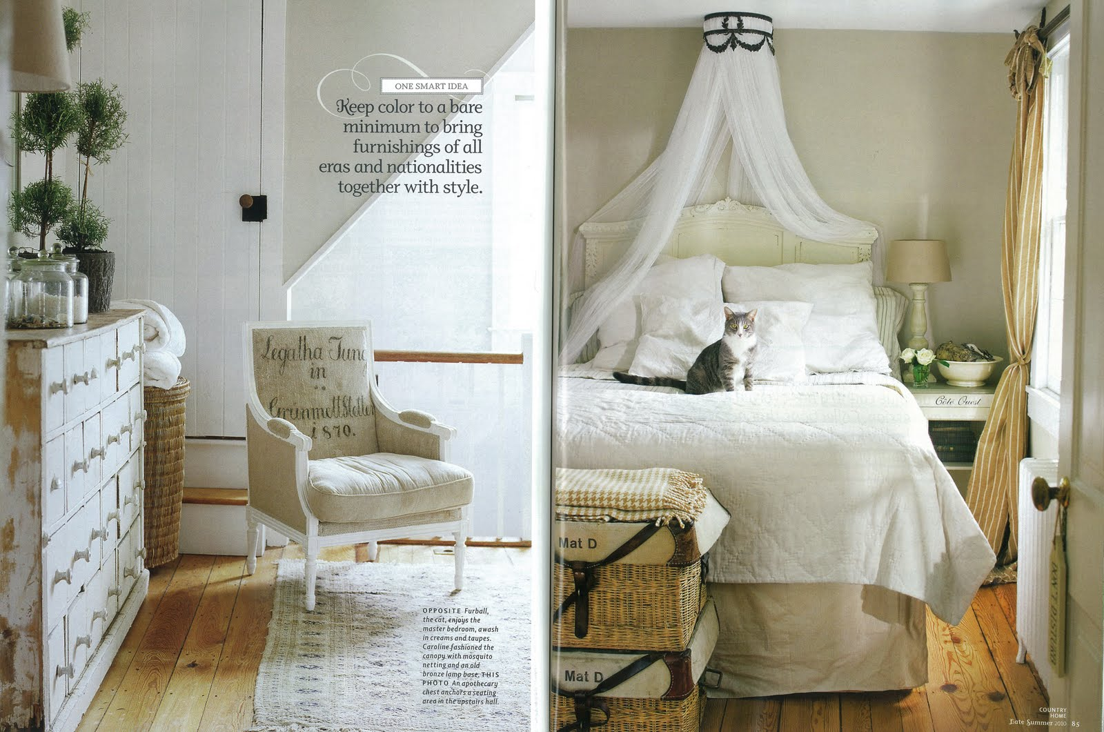 Bricolage new country home magazine and a plan b for Magazine bricolage decoration