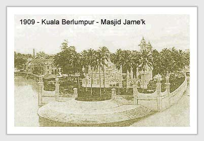 Masjik Jamek,1909