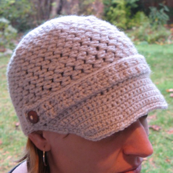 newsboy cap pattern. I bought this pattern (as well