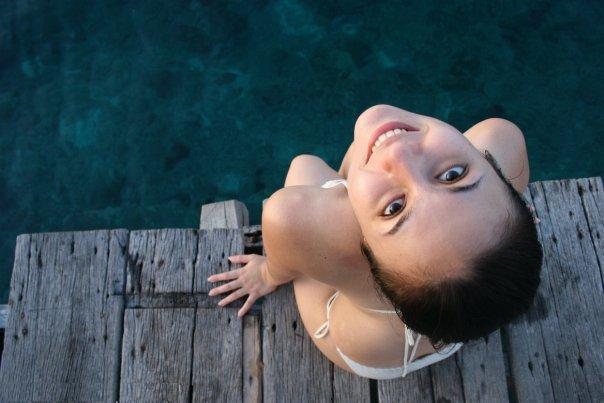 Foto Seksi Wulan Guritno Bikini